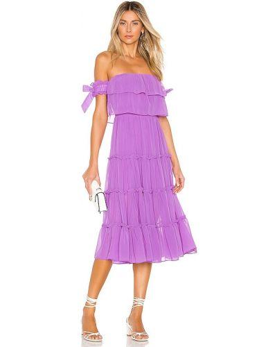 Розовое платье с подкладкой Misa Los Angeles