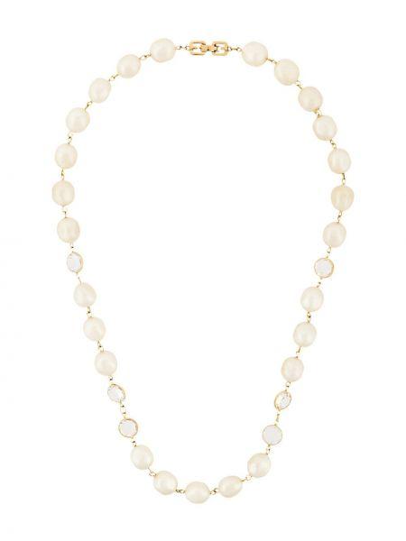Белое ожерелье с жемчугом Givenchy Pre-owned
