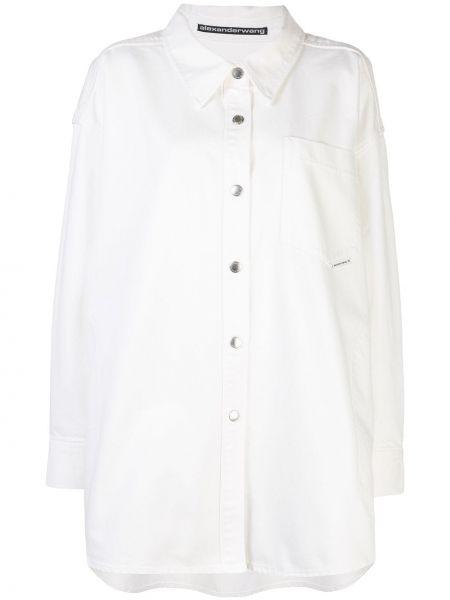 Рубашка с длинным рукавом оверсайз на кнопках Alexander Wang