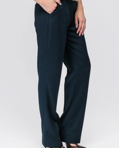 Классические брюки синие Yulia'sway