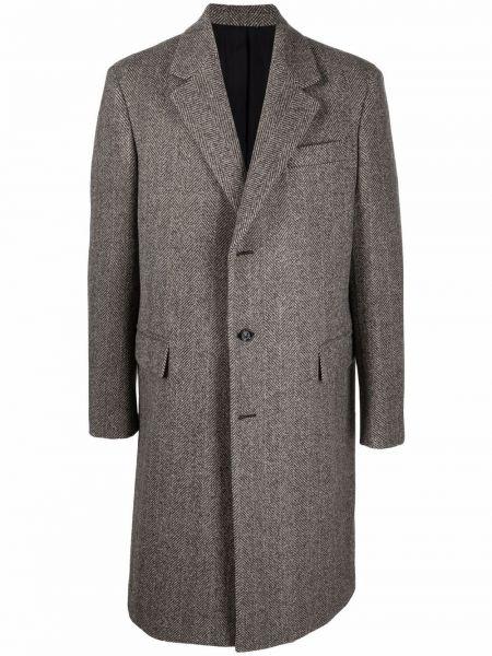 Brązowy płaszcz bawełniany Bottega Veneta