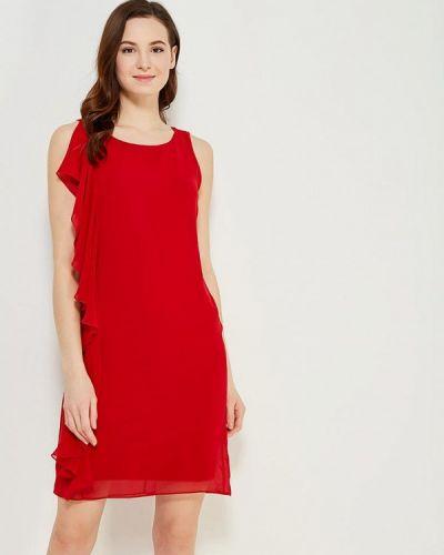 Красное платье Naf Naf
