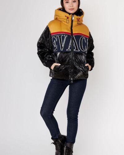 Куртка с капюшоном - черная Evacana