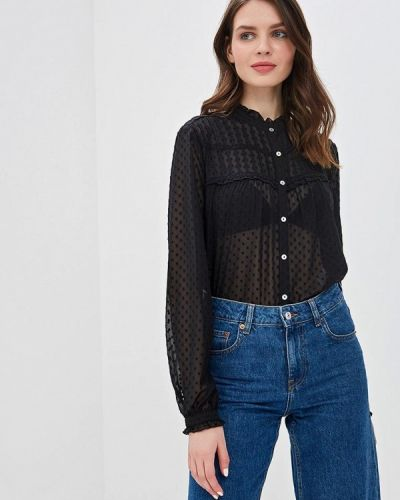 Блузка с длинным рукавом черный Only