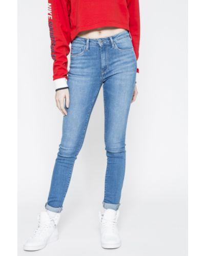 Джинсы-скинни с аппликацией Pepe Jeans