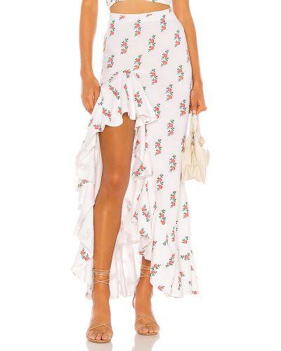 Bawełna spódnica z haftem z zamkiem błyskawicznym All Things Mochi