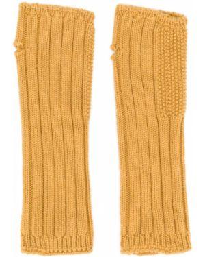 Желтые перчатки Holland & Holland