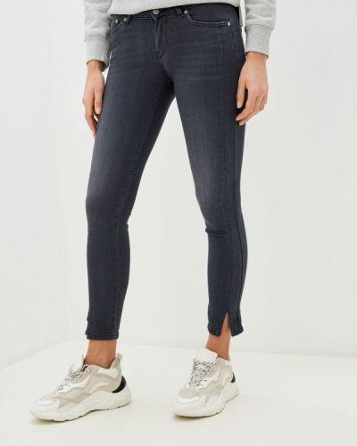 Серые джинсы-скинни узкого кроя Pepe Jeans