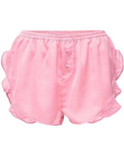 Розовые шорты на резинке Love Stories