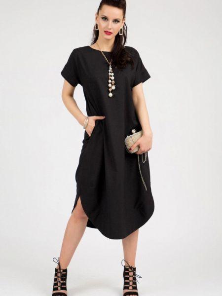 Платье - черное Grey Cat