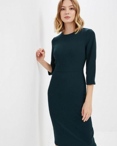Платье осеннее зеленый Warehouse