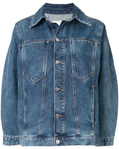 Джинсовая куртка на пуговицах классическая Walk Of Shame