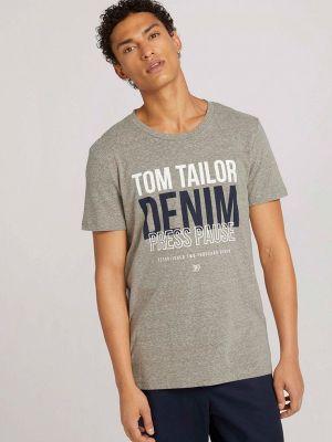 Зимняя футболка Tom Tailor Denim