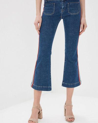 Широкие джинсы расклешенные синие Sonia Rykiel