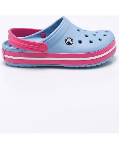 Голубые сандалии Crocs
