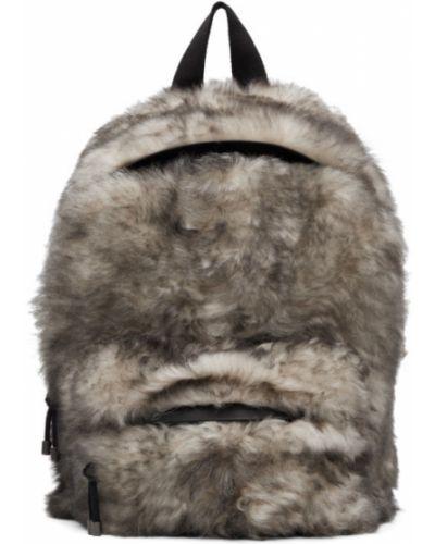 Czarny plecak skórzany Vetements
