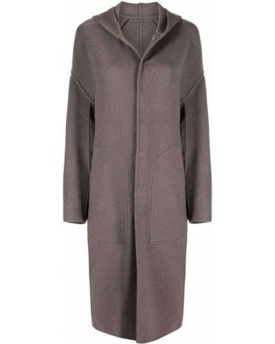 Długi płaszcz z kapturem Rick Owens