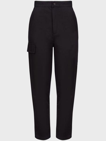 Хлопковые черные джинсы на молнии The Fifth Label