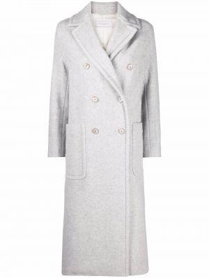 Серое шерстяное пальто Antonelli