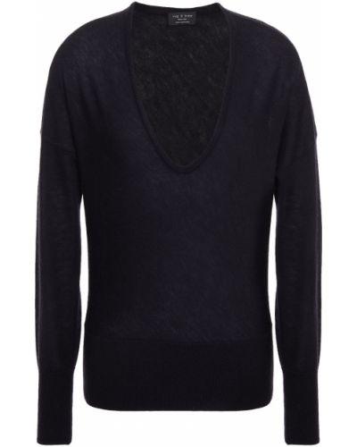 Z kaszmiru sweter - czarny Rag & Bone