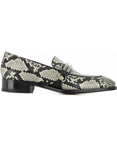 Loafers - szare Giuseppe Zanotti