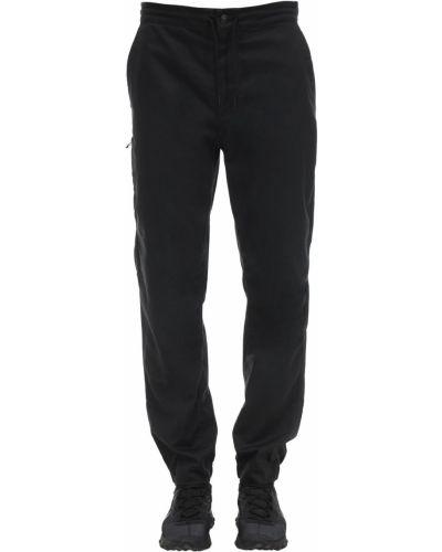 Czarne spodnie bawełniane Patagonia