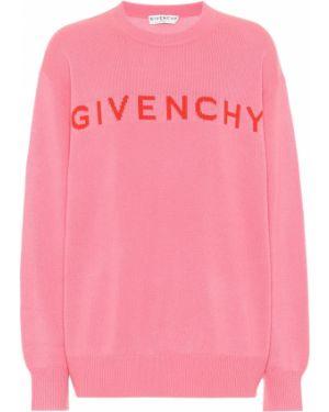 Sweter z kaszmiru żakard Givenchy