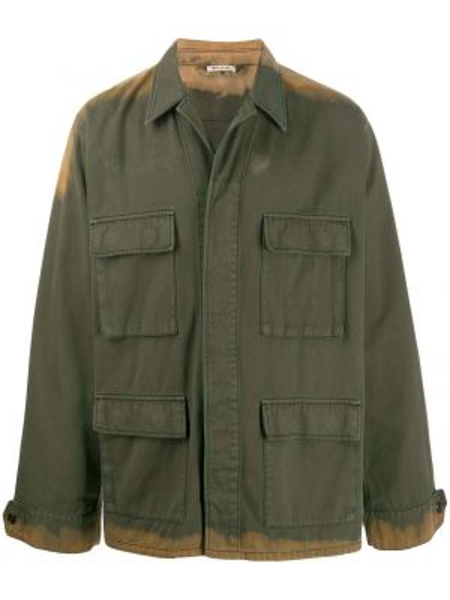 Koszula z długim rękawem wojskowy długa Marni