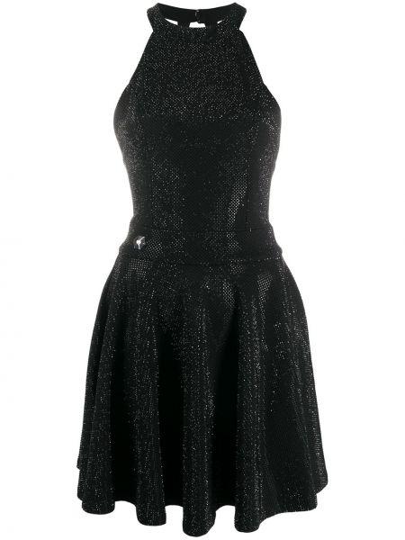 Платье мини с открытой спиной на молнии Philipp Plein