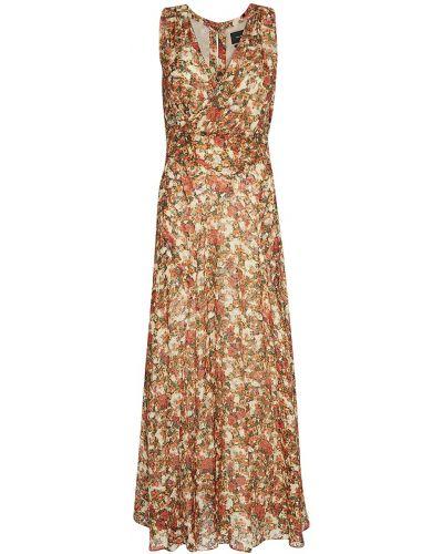 Платье макси в стиле бохо с цветочным принтом Isabel Marant