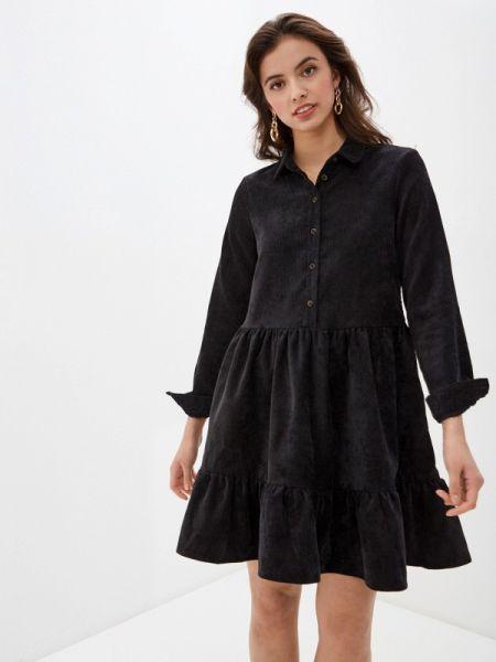 Платье прямое черное Vero Moda