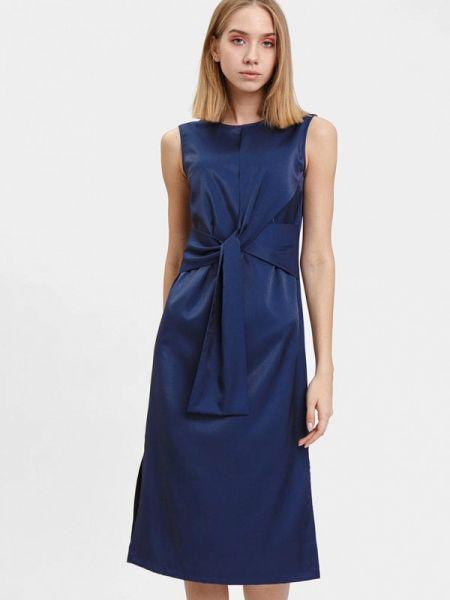 Синее платье Bizzarro