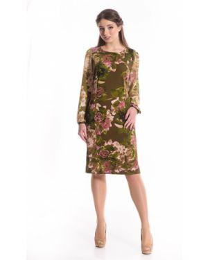 Вечернее платье шифоновое платье-сарафан Merlis