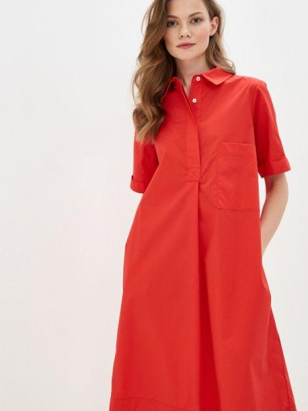 Коралловое платье Massimiliano Bini
