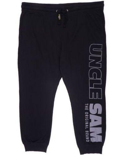 Трикотажные спортивные брюки - черные Uncle Sam