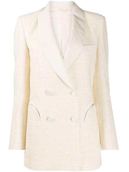 С рукавами прямая куртка на пуговицах с карманами Blazé Milano