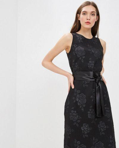 Платье прямое черное Imago