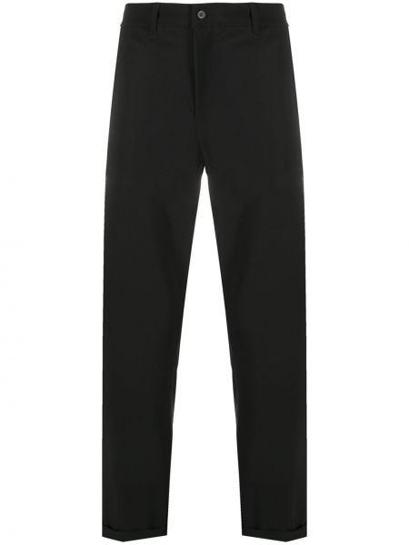 Czarne spodnie z paskiem Hydrogen