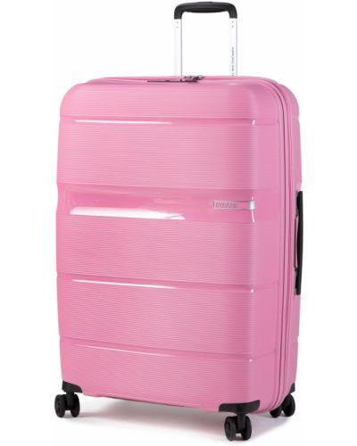 Walizka duża - różowa American Tourister