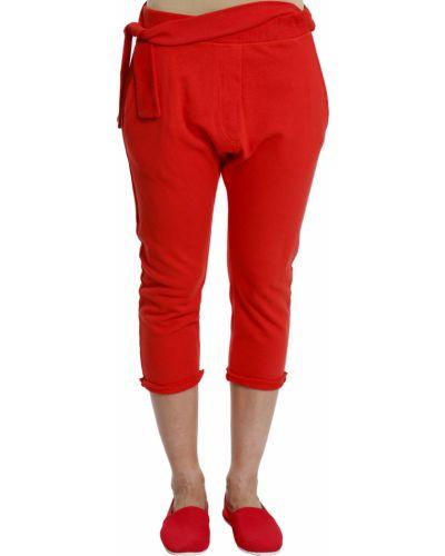 Спортивные брюки красный Maison Margiela