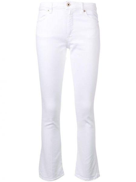 Укороченные джинсы с поясом на пуговицах с пайетками Dondup