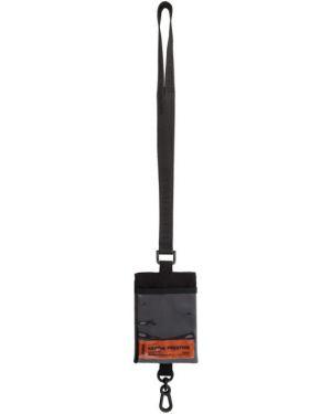 Ключница с логотипом черная Heron Preston