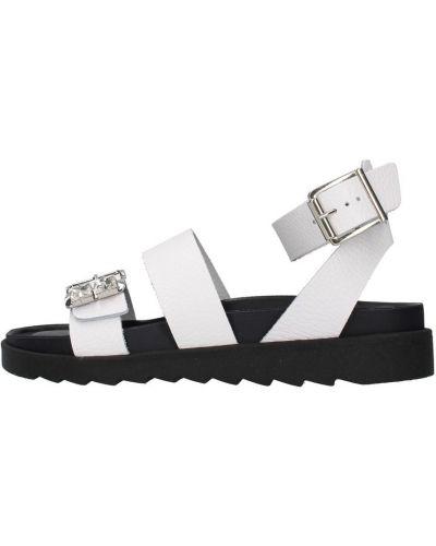 Białe sandały Apepazza