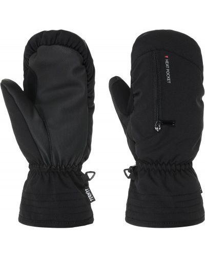 Черные перчатки спортивные Termit