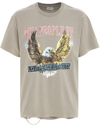 T-shirt bawełniany vintage The People Vs