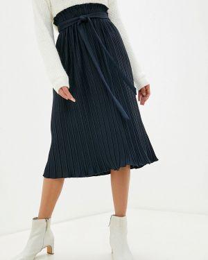 Синяя плиссированная юбка Zarina