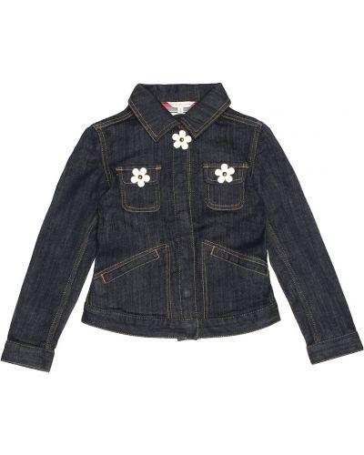 Джинсовая куртка классическая синий Little Marc Jacobs