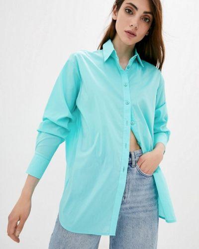 Рубашка с длинным рукавом - бирюзовая Lilove