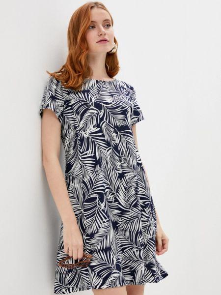 Платье прямое синее Defacto