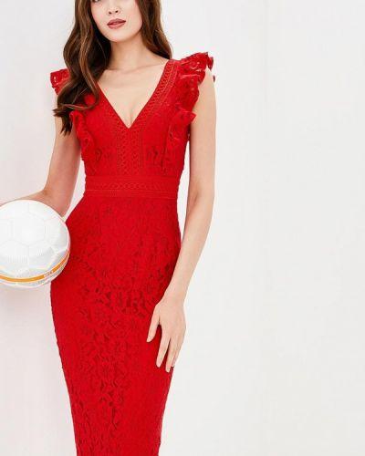 Красное коктейльное платье Little Mistress